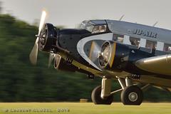 Junkers 52 (Laurent CLUZEL) Tags: classic vintage airplane nikon aircraft 28 70200 airliner 52 junkers d610 alais fert