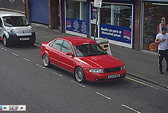 Audi A4 Glasgow 2014 (seifracing) Tags: rescue cars scotland europe traffic britain tunisia transport scottish police ambulance renault vehicles bmw british emergency spotting services recovery strathclyde brigade ecosse seifracing