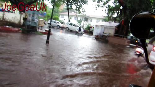 Panjim roads flooded