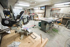 Wood shop at east-end Tool Library