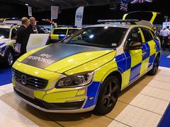 Volvo V60 RPU (Emergency_Vehicles) Tags: show blue light june amber volvo police telford national conference fleet association managers 2014 demonstrator rpu v60