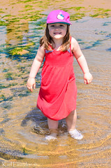 I'm Wet! (karllaundon) Tags: family sea summer sun cute beach fun happy seaside day child laugh northeast rockpool redcar
