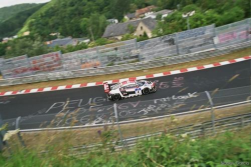 Audi R8 LMS at Wehrseifen