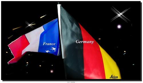 #FIFA World Cup #2014, # Frankreich  - # Deutschland. #WorldCup #fra #ger. Happy July 4th! #Equipe #Tricolore #Adlerträger #Deutsche #Nationalmannschaft