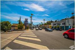 Sunset Boulevard I (FOXTROT|ROMEO (#collectingmmnts)) Tags: california ca blue sky sun car cali canon fire eos la los boulevard angeles kodak wide roadtrip lafd hollywood hdr sunsetblvd hollywoodhills sunsetboulevard weitwinkel theathre 70d widerange eos70d sunsetblvrd