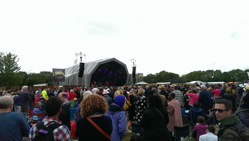 Laura Mvula on the main stage