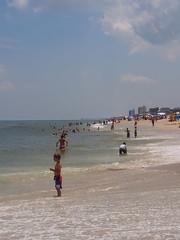 P6220513 (photos-by-sherm) Tags: ocean summer beach nc sand surf north atlantic carolina walkers sunbathers