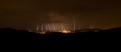 La nuit des éclairs (Vagadjo Photographie) Tags: long exposure beaujolais jolie lightning paysage nuit ville orage violent météo éclairs ténébreux