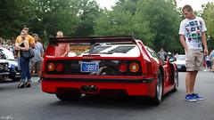 F40 (Anthony Stone - amsfoto) Tags: cars coffee car virginia antique famous great twin ferrari falls replica turbo katies lm ultra supercar v8 f40