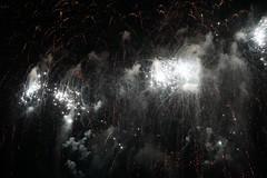 Fireworks (mesmoland) Tags: bristol international balloonfiesta pyro pyrotechnics 2014 mesmoland