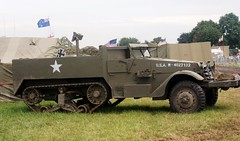 M3 Halftrack (MJ_100) Tags: show army us military wwii ww2 vehicle m3 halftrack usarmy secondworldwar revival warandpeace