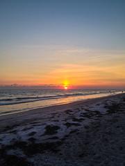 Longboat Key (rphilman1) Tags: sunset sea summer moon beach water mexico sand key waves gulf florida longboat 2014