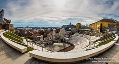 Amphitheatre Overlooking Plovdiv, Bulgaria