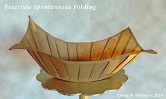 Vessel (Carlos N. Molina - Paper Art) Tags: paper freestyle origami folding vessels spontaneous papercraft brownbags designbycarlosnmolina manualidadesdepapel