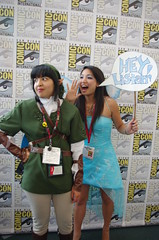 SDCC 2014 JPEG 1695 (Photography by J Krolak) Tags: california costume cosplay sprite pixie fairy link masquerade navi legendofzelda comiccon2014 sdcc2014 sandiegocomiccon2014