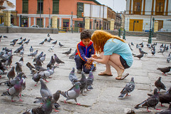 Lima, Peru (photosbymcm) Tags: barcelona city travel playing bird peru church southamerica smiling birds inca kids america children happy photography flying jumping feeding lima pigeon pigeons south capital may culture seed inka seeds adventure peruvian 2014 quecha photosbymcm matthewmcandrew