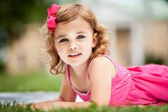 Pretty in Pink (Josh J Street) Tags: park pink light portrait girl beautiful grass canon de kid pretty child natural bokeh mark adorable 100mm business ii 5d 100 f2 delaware bellevue 5d2 elitechildimages