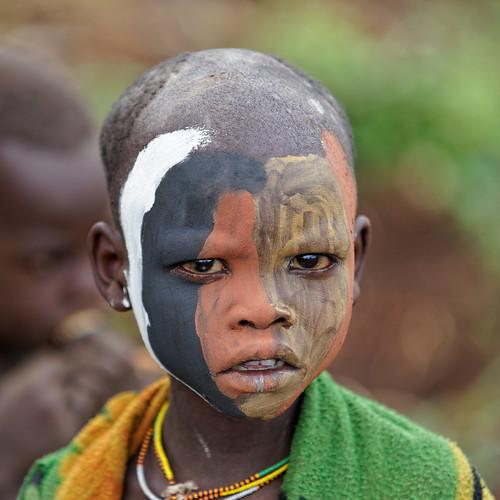 Surma Tribe boy