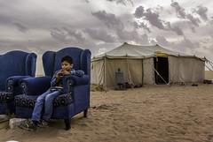 Tea time (Azarbhaijaan) Tags: cold clouds sand desert tea tent sofa kuwait baghdadi pakistaniphotographer pentaxk10d azharmunir drpanga