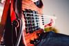 Bajo eléctrico (Josemari Gago) Tags: musician music blur lights fuji bass bokeh guitar stage escenario strings nighr xseries 23mm fujixseries fujix100s x100s