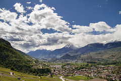 Bramois vu de Nax (Nicolas Christe) Tags: schweiz switzerland village suisse agriculture campagne wallis vigne valais territoire habitations dveloppement fddm territoirial