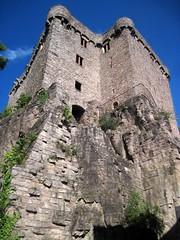 Baden-Baden: the tower of the old Hohenbaden castle (Altes Schloss) [Explore 27/08/2014] (Sokleine) Tags: castle heritage germany deutschland medieval badenbaden schloss allemagne château middleages burg badenwürttemberg altesschloss