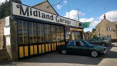 Midland Garage, Cresswell (A616) (EthelRedThePetrolHead) Tags: nokia misc rover wtf 2014 lumia roverp6 lumia920 ethelredthepetrolhead
