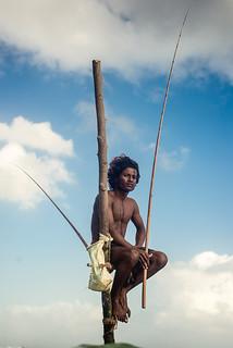 Stilt Fisherman - Polhena