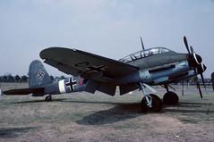 wr420430.Hendon030776copy (MarkP51) Tags: museum aircraft aviation preserved raf luftwaffe messerschmittme410a