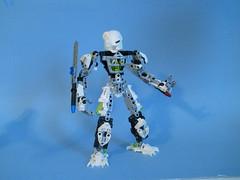 Gravid neutral (MySnailEatsPizza) Tags: white cool lego gravity cannon sword bionicle toa moc kanohi