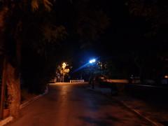 (Psinthos.Net) Tags: road autumn trees night nightlights september sidewalk planetrees treebranches   vrisi psinthos              vrisiarea  vrisipsinthos treetrubks
