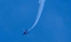 Blue Angels (Victor Dvorak) Tags: ohio nikon aviation cleveland navy hornet blueangels usnavy fa18 navalaviation clevelandnationalairshow 300mmf4d flightdemonstrationteam d300s