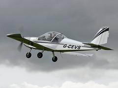 G-CEVS EV-97 TeamEurostar UK (PlanecrazyUK) Tags: orm laa sywell egbk gcevs ev97teameurostaruk laa2014