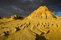 The Walls of China (popparartzzi photography) Tags: sunset sand dunes australia outback sanddunes mungo mungonationalpark popparartzzi