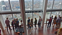 Viewing gallery in The Shard, London (sbally1) Tags: city london view shard theshard