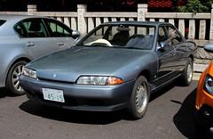 NISSAN SKYLINE (Audi quattro2) Tags: japan sedan gray jdm gxi ca18 fr32