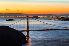San Francisco Sunrise - 15 (www.bazpics.com) Tags: sanfrancisco california morning bridge usa sun color colour night america sunrise golden gate san francisco day ray glow break unitedstates state hawk hill saturday hills goldengatebridge april sausalito 26th sausolito 2014 barryoneilphotography