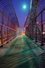 Le pont/The bridge/El puente 2 (Elf-8) Tags: bridge dawn escape prison jail