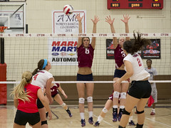 DJT_2731 (David J. Thomas) Tags: sports athletics women volleyball arkansas amc trojans scots naia batesville lyoncollege hanniballagrangeuniversity americanmidwestconference