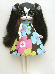 Pepper Parson (Wisteria floribunda) Tags: bridge dog pets english set toy pepper miniature outfit doll king dress handmade jet charles clothes cooper spaniel parson pinkie direct the