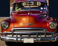 Montage of a Chevrolet 1949 (c.richard) Tags: chevvy 1949 fleetline chevorolet