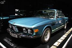 BMW 3.0 CSi (Chris Droesch) Tags: 30 museum canon munich eos 1971 bmw csi welt 2014 40d