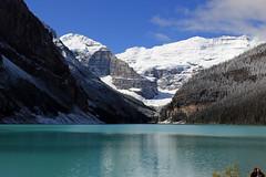 Posing by Lake Louise (JB by the Sea) Tags: canada rockies alberta banff rockymountains lakelouise banffnationalpark canadianrockies september2014
