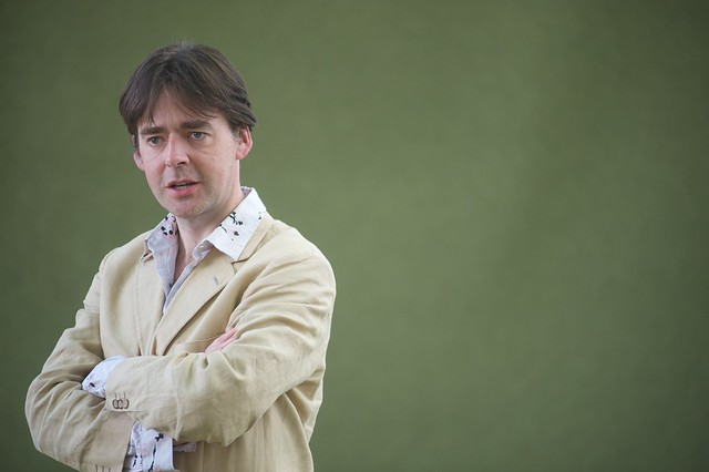 Robert Wilton was at the Book Festival to talk about The Spider of Sarajevo