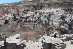 Bisti/De-Na-Zin Wilderness (CaptDanger) Tags: newmexico rock sandstone rocks geology wilderness 2d rockformations versions geological wildernessadventure bistiwilderness newmexicolandscapes bistidenazinwilderness unreallandscape likeanotherplanet bistidenazin nmwilderness