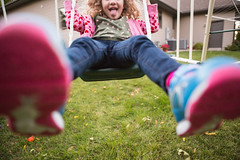 365 Day 264 (Annie Otzen Photography) Tags: girl fun swing 365 day264 project365