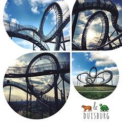 Grüße aus Duisburg. | Greetings from Duisburg.  Tiger & Turtle  #kiraton #instaweather  #weather #wx  #duisburg #deutschland #day #autumn #de #holiday #hooray #hoorayfortoday #kiratontravel #travel #travelblog #travelingram #traveltheworld #worlderlust #w