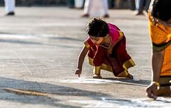 Kolam (Padmanabhan Rangarajan) Tags: ngc chennai chariot 70200mm ther carfestival parthasarathytemple nikond750