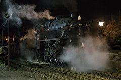 Nightshoot 5 (daveymills31294) Tags: 45379 lms br 5mt black 5 ropley watercress line