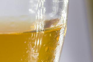 A celebratory drink - Macro Mondays